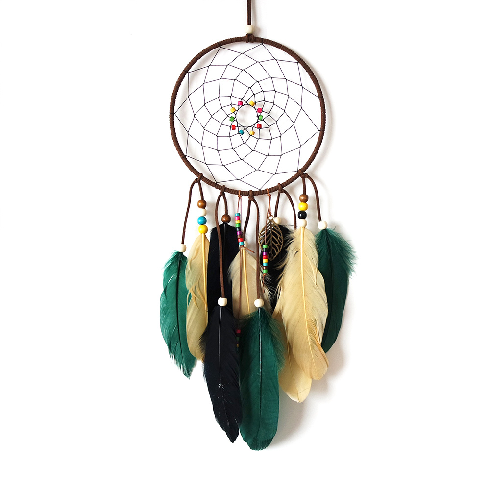"Ornerx Dream Catcher Wall Home Decor 15.75"" Long"