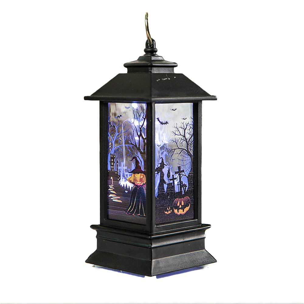 "ornerx 5"" Battery Operated Halloween Latern"
