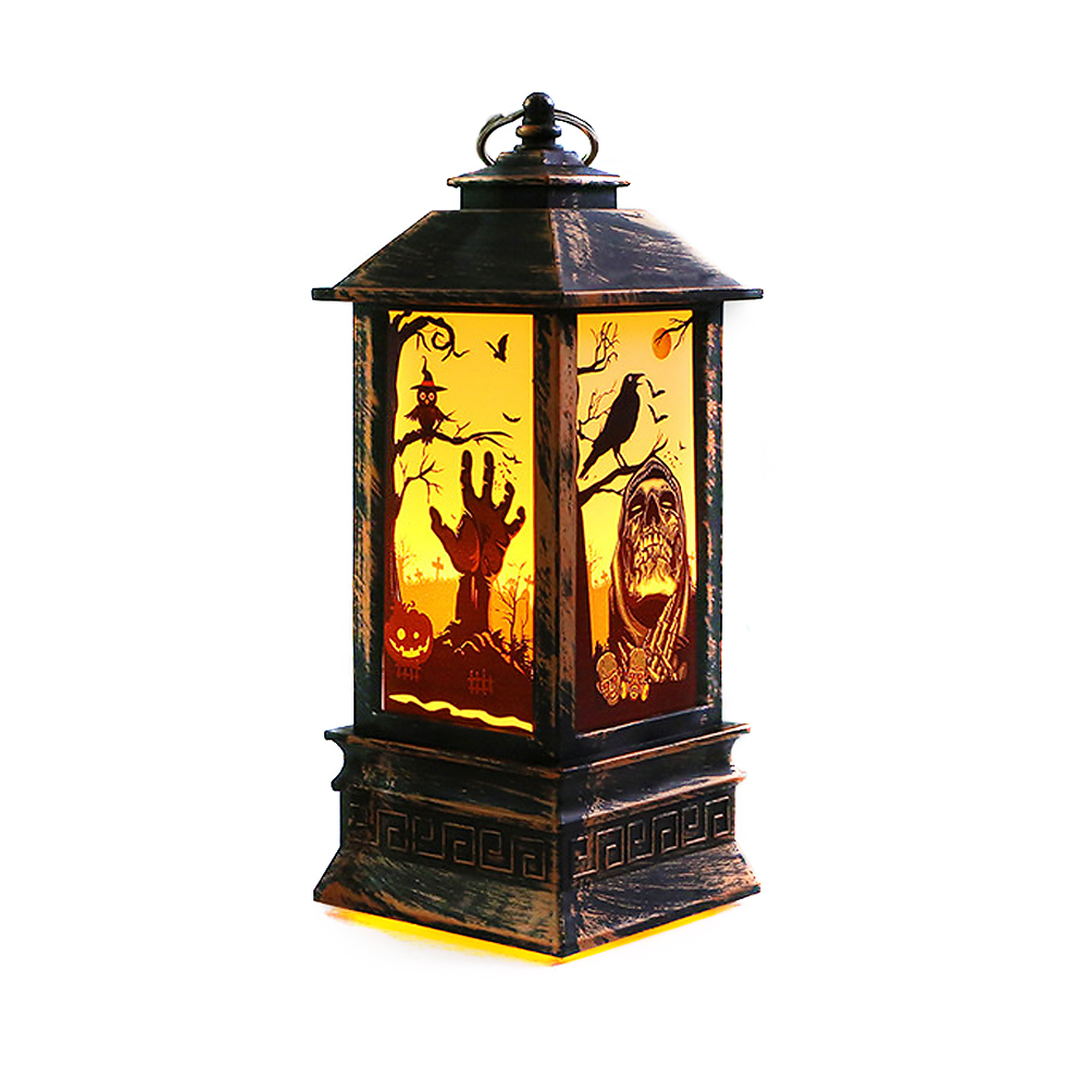 "ornerx 8"" Antique Decorative Lanterns for Halloween Party"