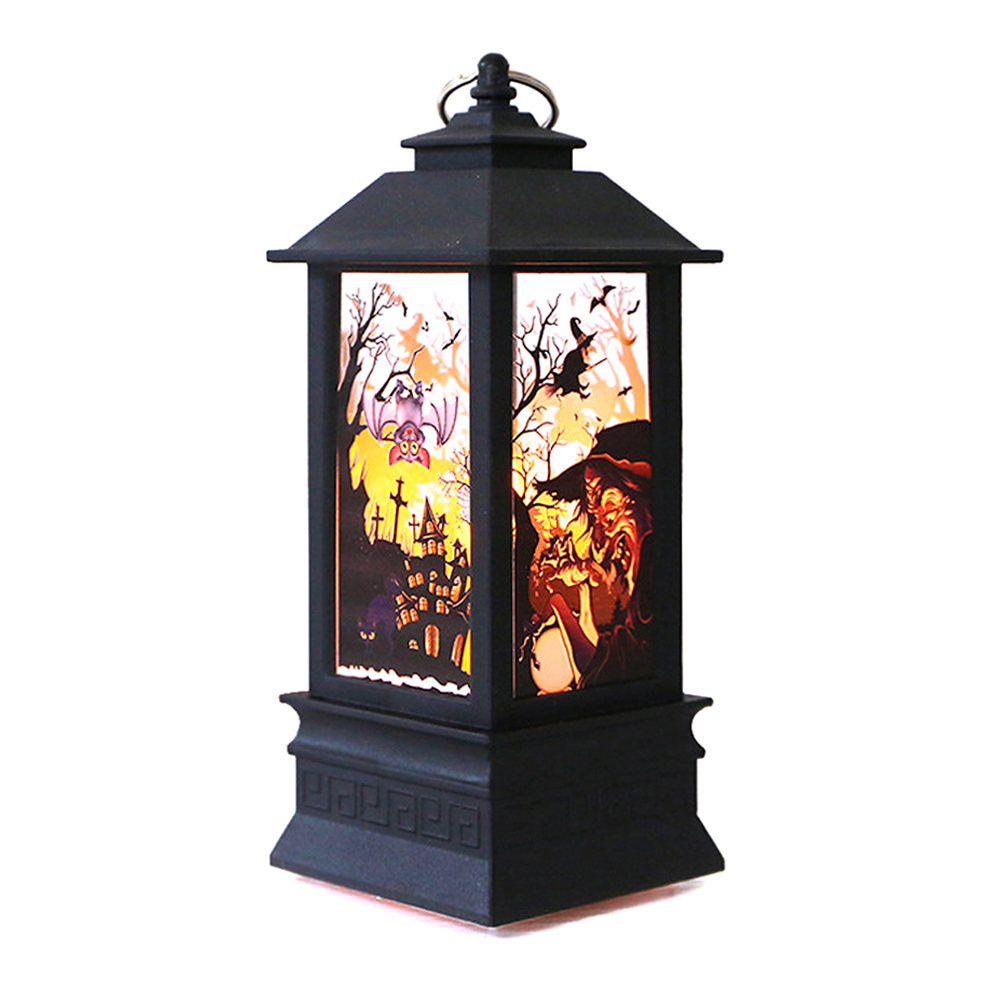 "ornerx 8"" Witch Halloween Lanterns Party Decorations"