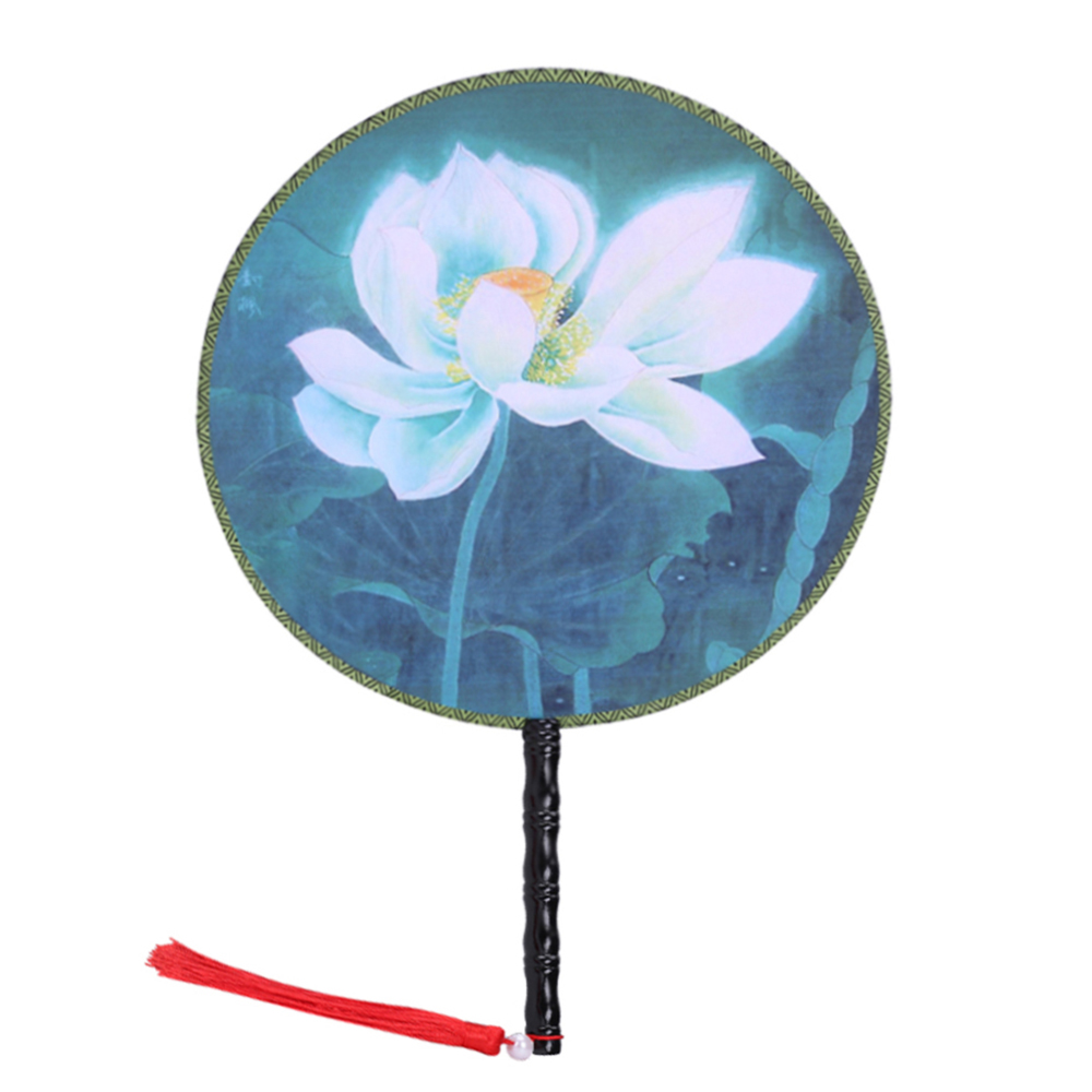 "Onerx Chinese Hand Fan For Women 14.6""x9.4"""