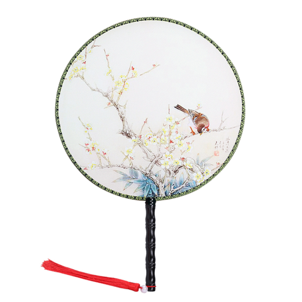 "Onerx Chinese Hand Held Fan 14.6""x9.4"""