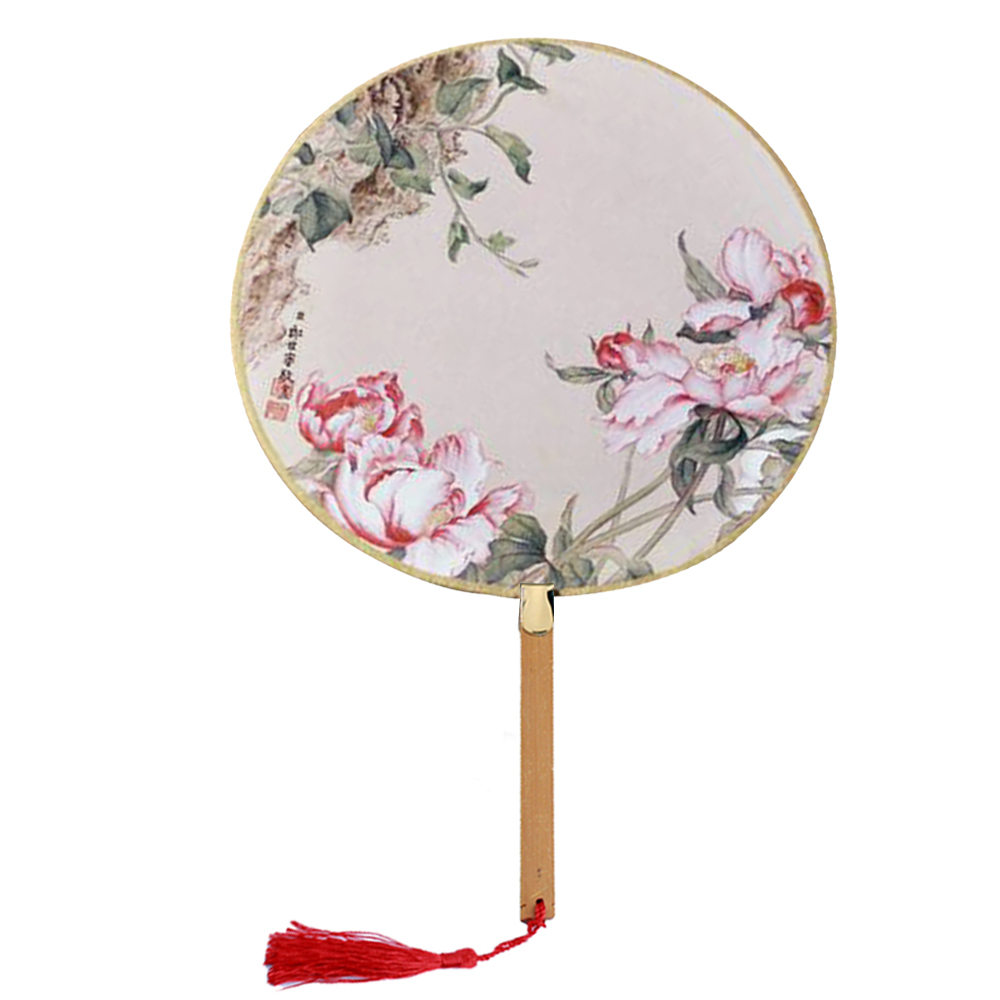 "Onerx Hand Fan Decorations For Women 8.3""x13"""