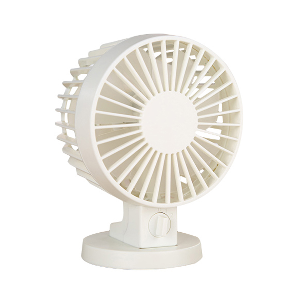 Ornerx Portable USB Fan White For Desk